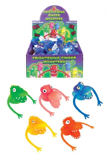 Finger Frights (4cm) 5 Assorted Colours (Individual Price)
